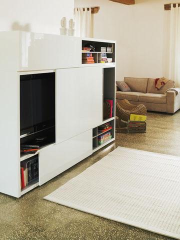 كبار مسموع قوي meuble cache tele
