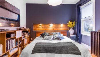 la photo du jour une niche en bois comme tte de lit