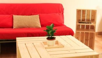 on a test le kit de table basse avec caisses en bois de simply a - Table Basse En Caisse En Bois