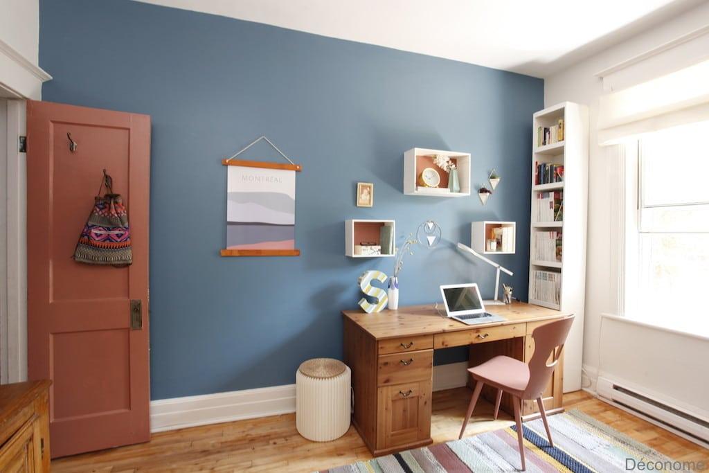 Le Plus Beau Bleu Pour Peindre Un Bureau Deconome