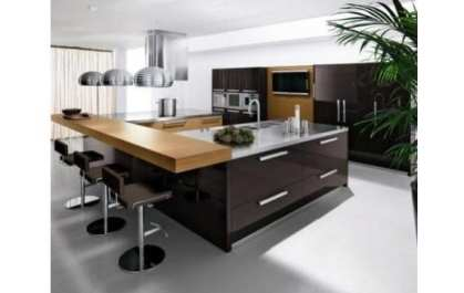 Cocina con estilo minimalista