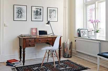 Escritorios vintage de madera