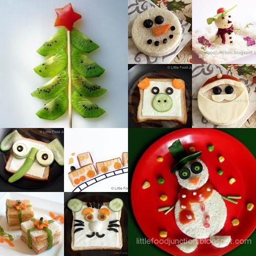 comida divertida Recetas divertidas de Navidad