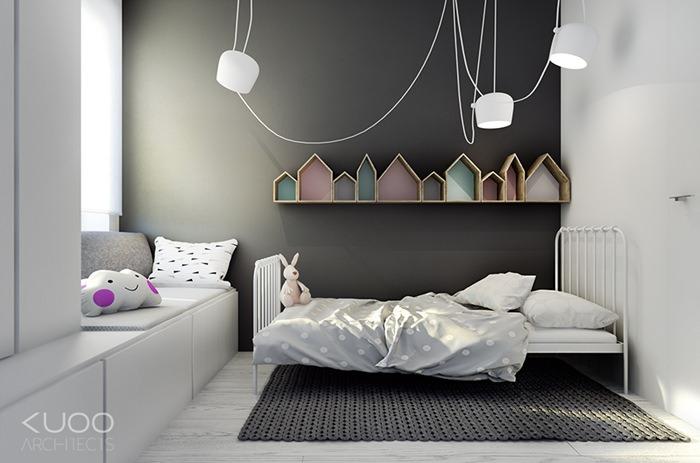 Una habitación infantil sencilla y coqueta