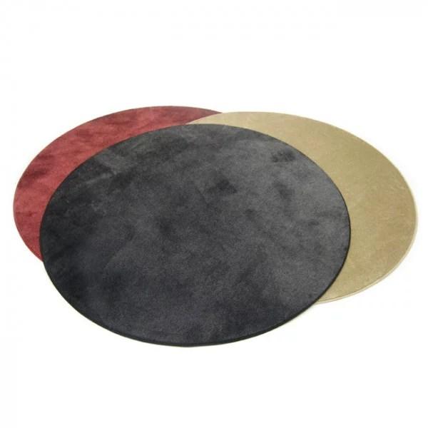 tapis surjete rond 130 cm