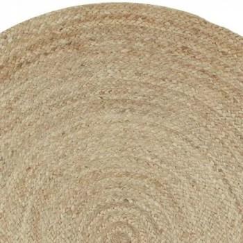 tapis rond tresse jute diametre 160 cm