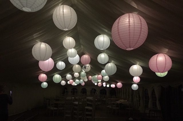 Hanging Lanterns Hire
