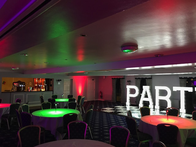 Table Lights Hire