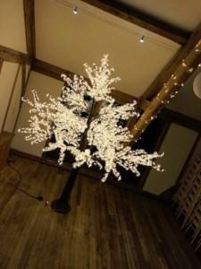 LED Blossom Leaf Trees