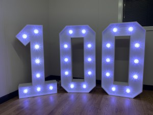 4ft Light Up Numbers Hire