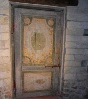 Porte XVIe siècle - avant restauration