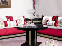 Beautiful Canape Marocain Rouge Gallery - House Design ...