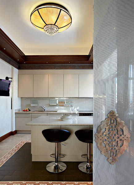 Arabic Decor Motifs In Modern Interior Design Luxurious Penthouse In Moscow