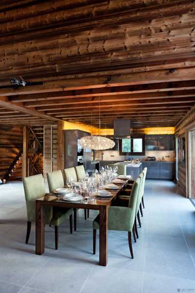 Gorgeous Cottage Style Decor Ideas And Breathtaking Views Blend Into Stunning Alpine Chalet