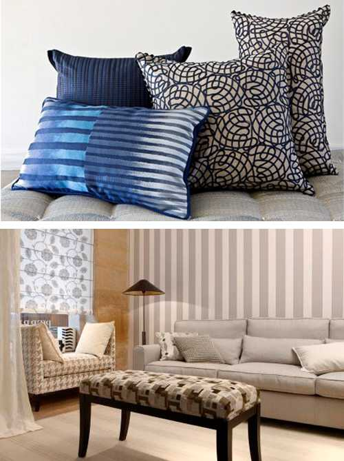 Modern Home Decorating Fabrics Bring Beautiful Colors And Ethnic Interior Decoration Patterns