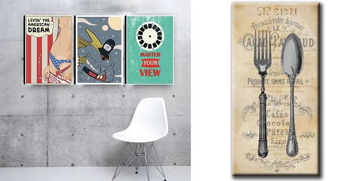 Cuadros vintage - Cuadros abstractos paso a paso ...