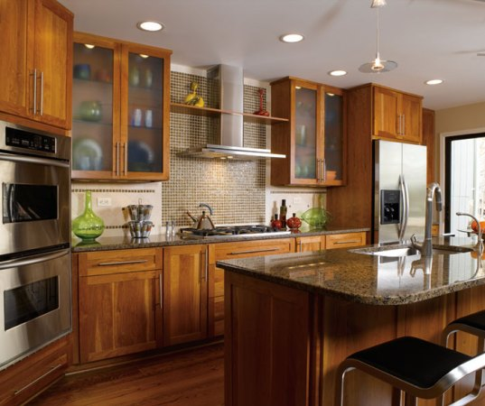 Contemporary Shaker Kitchen Cabinets   Decora Contemporary Shaker kitchen cabinets by Decora Cabinetry