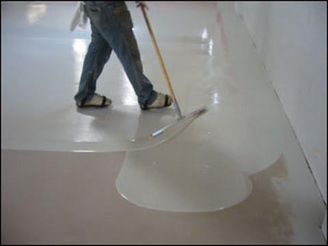 Aplicação de porcelanato líquido