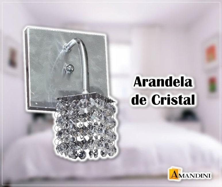 Arandela de Cristal – Lustres Amandini