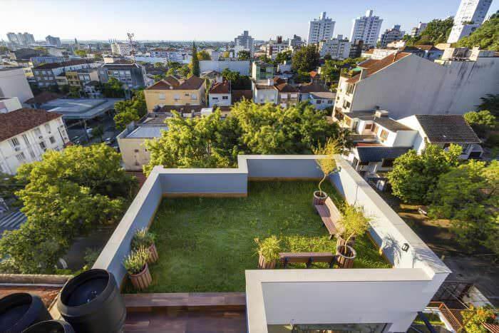 telhado verde gera econômia