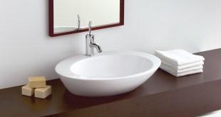 Los lavabos sobre encimera. Estilo y modernidad