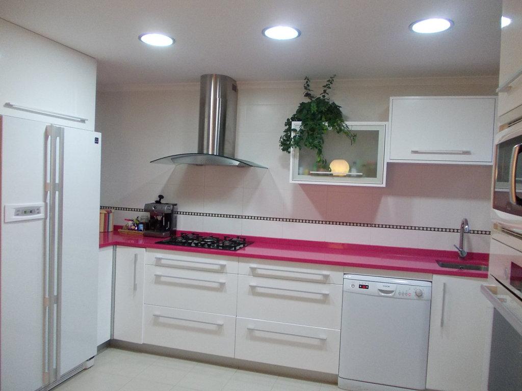 Encimeras de colores para la cocina - Medidas de encimeras de cocina ...