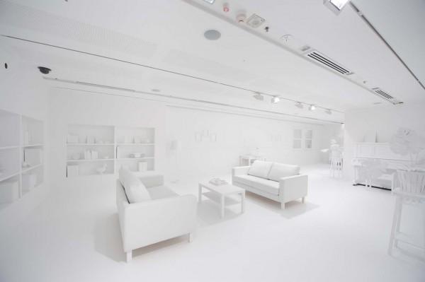 La casa de mil colores - blanco