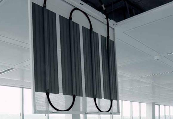 Calefacción de techo radiante