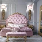 cama y cuarto barroco