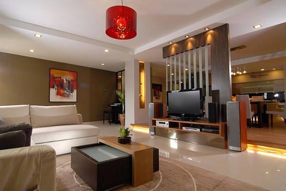 Decoracion De Interiores Sala Comedor Minimalista. sala de estar ...