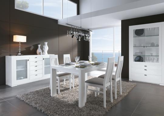 Comedores Elegantes En Color Blanco Decoracion De Interiores