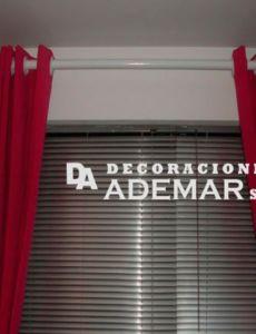 cortinas con persianas