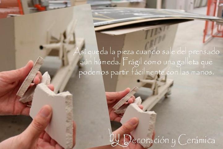 proceso de produccion de un azulejo