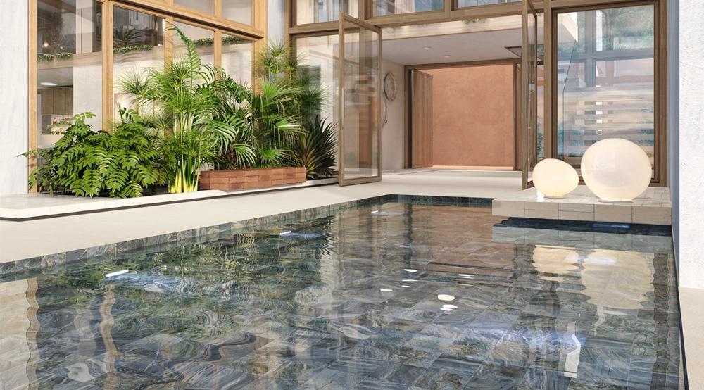 deep blue azulejo piscina ape ceramica azulejos