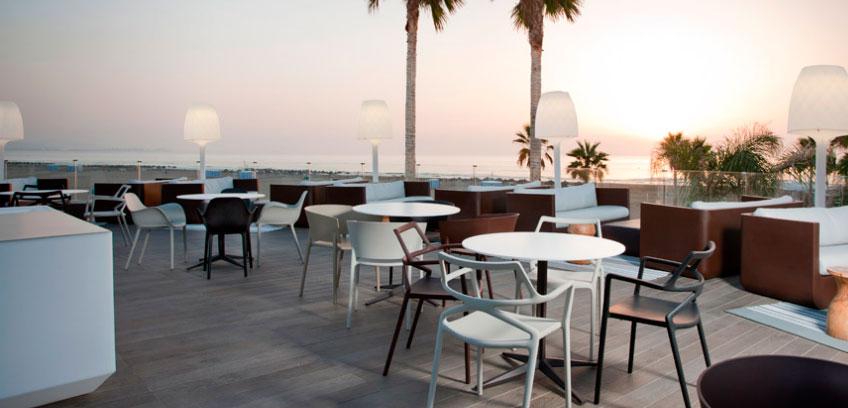fuente: Marina Beach hotel . Vondom
