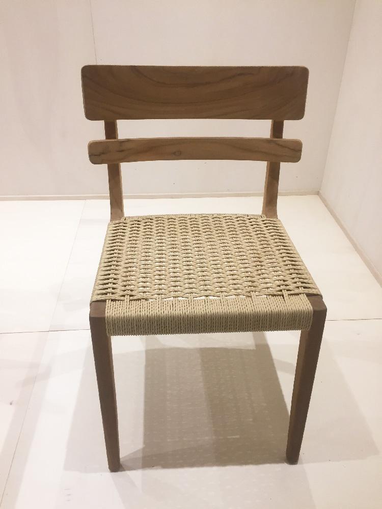 silla de cuerda habitat feria del mueble valencia