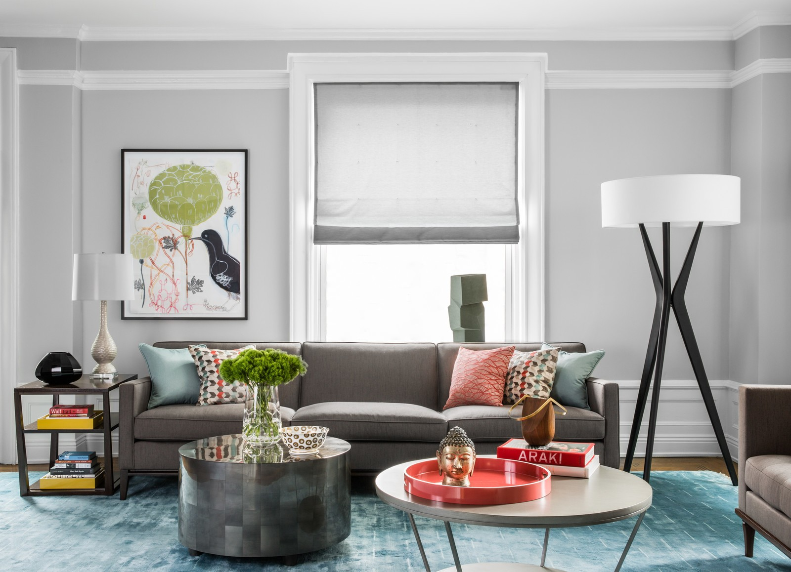 15 Ways To Style A Grey Sofa In Your Home Decor Aid