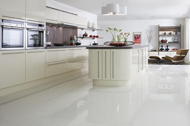 White Kitchen Floor Tiles Ideas
