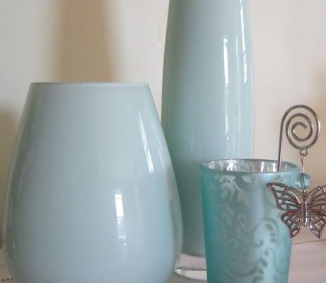 Painted Glass Bottles & Vases