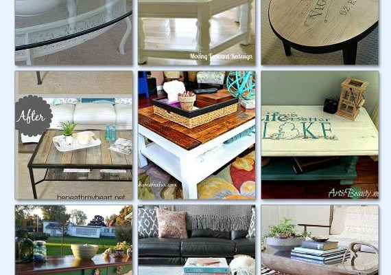 Rescued and Remade Coffee Tables