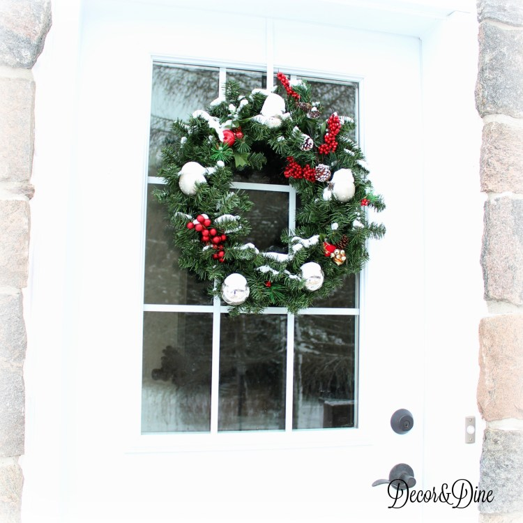 farmchristmas wreath