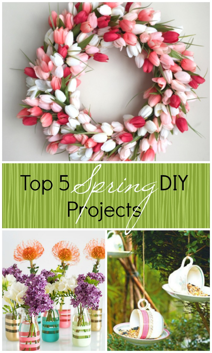 5 Spring Trends From London Fashion Week: Top 5 Spring DIY Projects