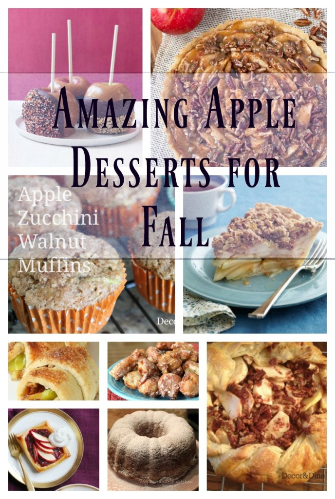 Amazing Apple Desserts