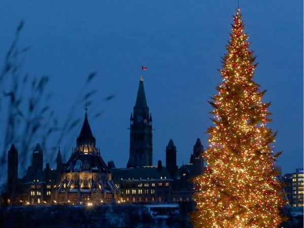 Christmas Tree, Ottawa Capital