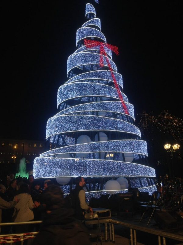 Christmas Tree.Athens, Greece