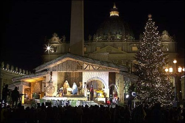 Christmas tree.vatican city