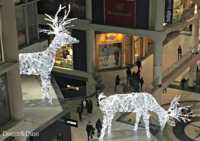 Reindeer at the Eaton Centre