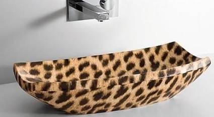 Lavabo animal print