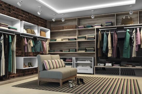 Organização de Closets planejados Como Organizar