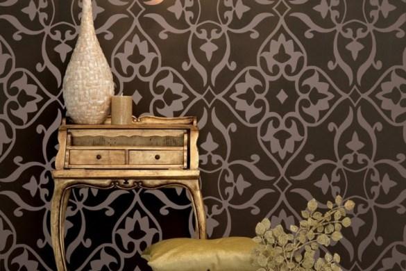 Papel de parede na decoração – Como usar